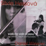 Works for violin and piano by new Czech composers